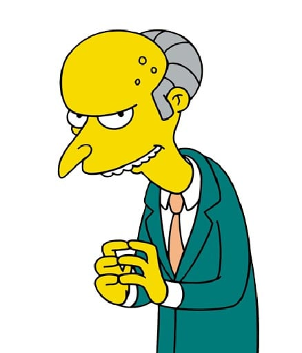 Montgomery Burns, The Simpsons