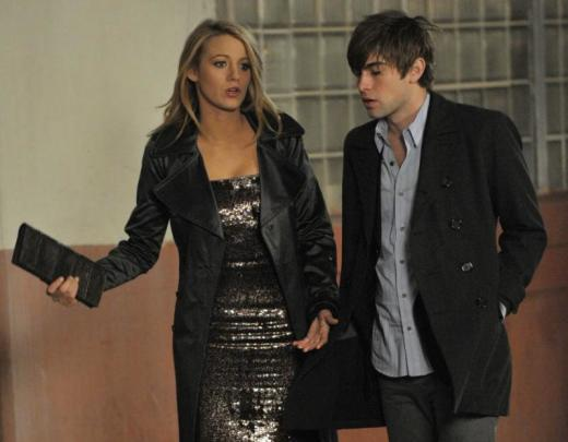 Blake and Chace Film a Scene