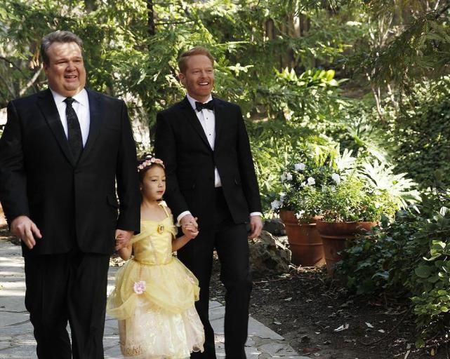 Cameron and Mitchell (Modern Family)