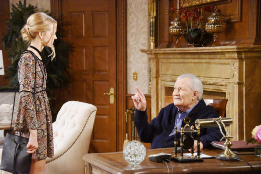 Victor Is Straight With Claire - Days of Our Lives