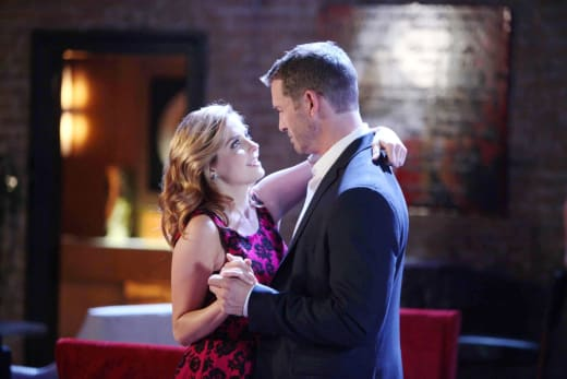 Theresa and Brady's Date Night - Days of Our Lives