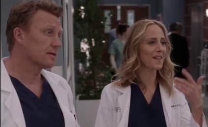 Grey's Anatomy Finale Sneak Peek: Will Tom Derail Teddy and Owen's Wedding?