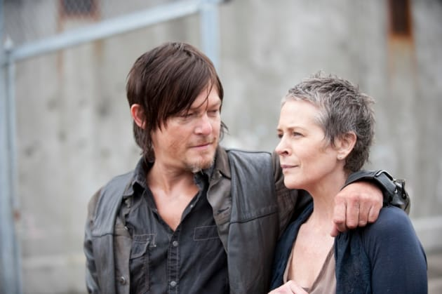 Cozying Up to Daryl