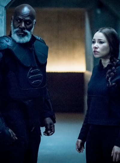 Nora From The Future - The Flash Season 5 Episode 18