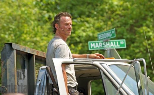 Rick at a Crossroads - The Walking Dead