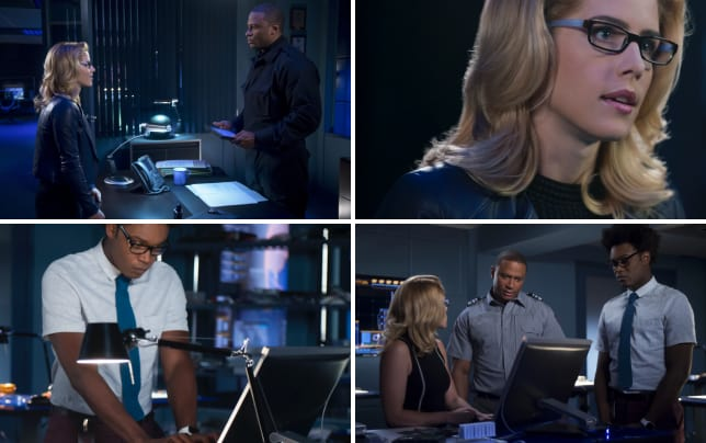 Laurel and diggle arrow