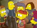 Western Art - The Simpsons
