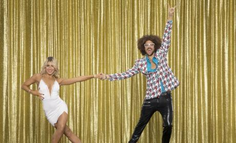 Redfoo and Emma Slater - Dancing With the Stars
