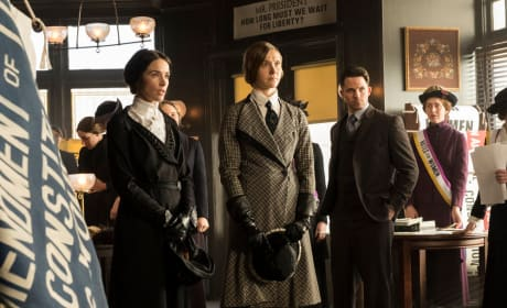 A Suffragette is Framed for Murder - Timeless