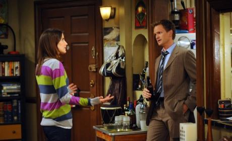 Barney Talking with Robin
