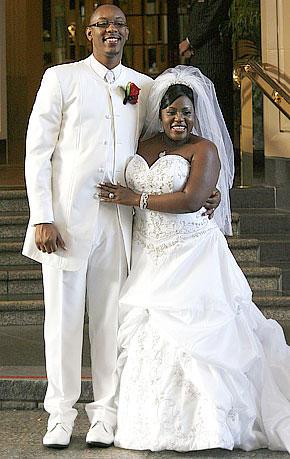 LaKisha Jones and Larry Davis
