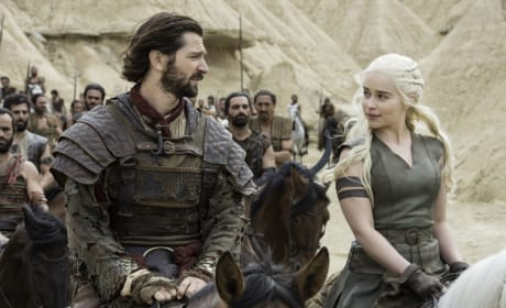 Daenerys & Daario - Game of Thrones Season 6 Episode 6