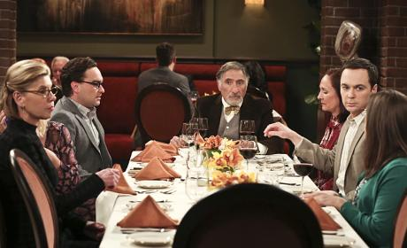 Awkward Dinner Party? - The Big Bang Theory Season 9 Episode 24