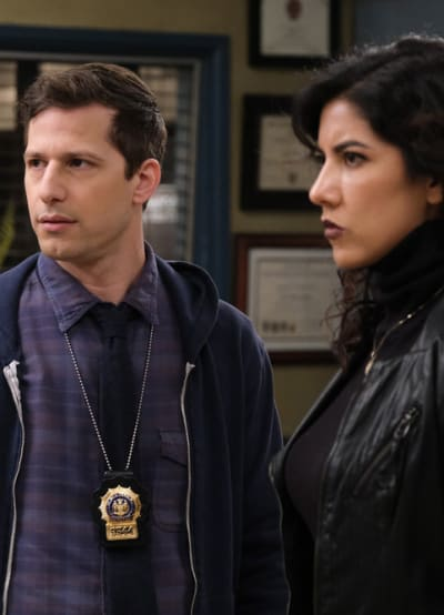 Rosa and Jake - Brooklyn Nine-Nine Season 6 Episode 14