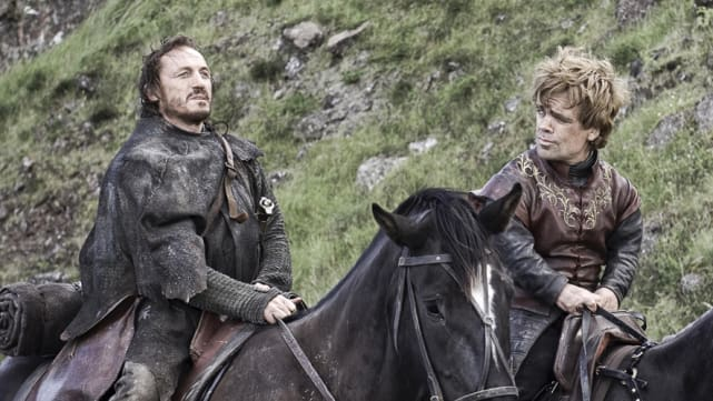 Bronn and jamie game of thrones