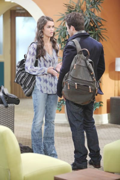 Paige Is On the Hunt - Days of Our Lives