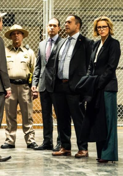 At the Immigration Center - Madam Secretary Season 5 Episode 10