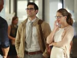 Kara and Clark Supergirl Season 2 Episode 1