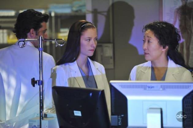 Lexie and Cristina