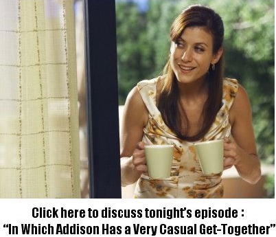 """Discuss """"In Which Addison Has a Very Casual Get Together"""" in Our Private Practice Forum!"""