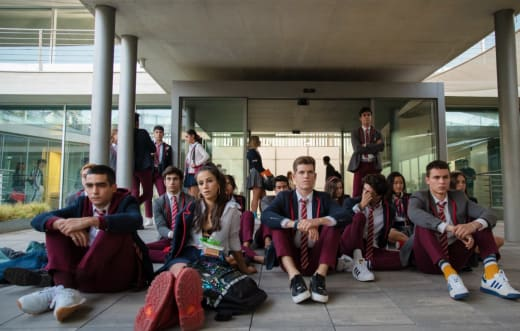 Elite Season 4 Trouble at School