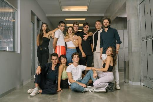 Elite Season 4 Cast Photo