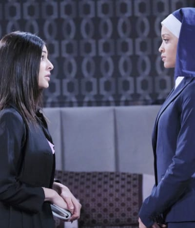 (TALL) Crossing Paths With Her Enemy - Days of Our Lives