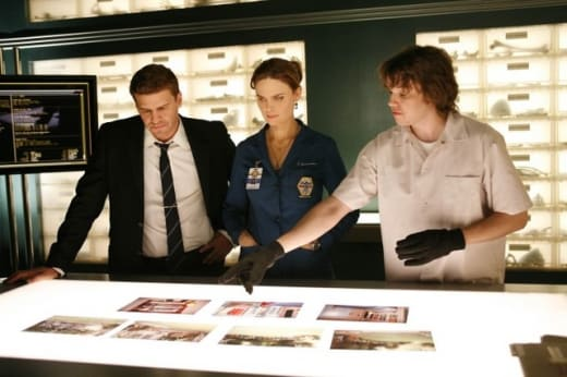 Bones, Booth, and Zack