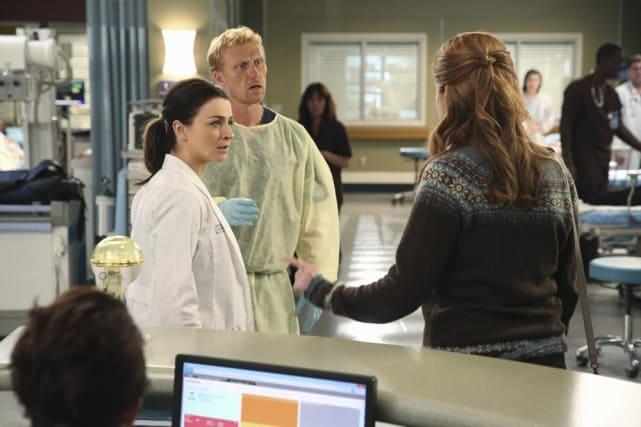 Finger Pointing - Grey's Anatomy Season 11 Episode 7