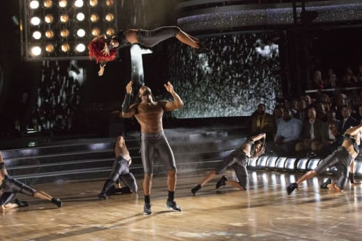 Josh Norman Makes the Catch - Dancing With the Stars: Athletes Season 26 Episode 4