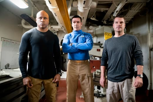 Teaming Up with Harm - NCIS: Los Angeles
