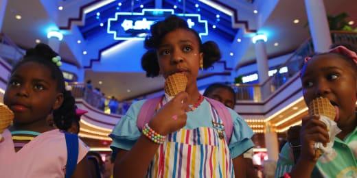 Erica Arrives at the Mall - Stranger Things Season 3 Episode 4
