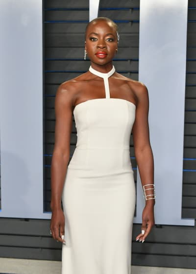 Danai Gurira Attends Oscar Party