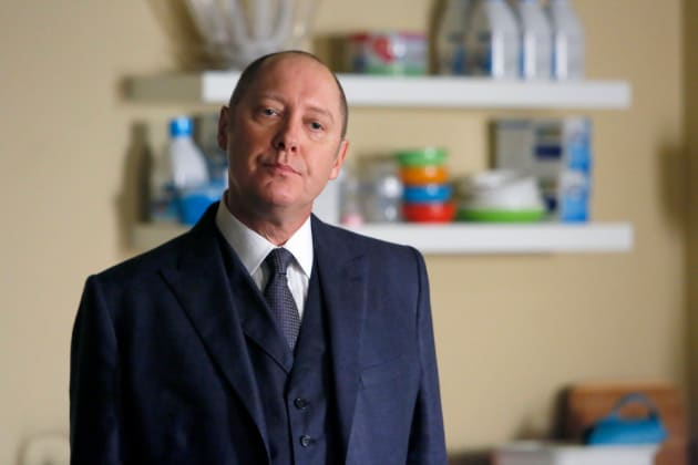 Red is not amused - The Blacklist Season 4 Episode 6 - TV