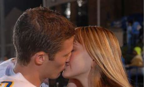 Julie and Matt Kiss