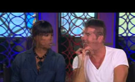 Simon Cowell and Kelly Rowland Interview