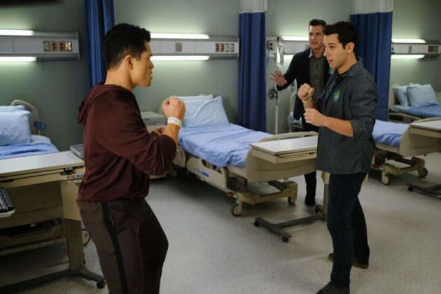 Josh and Greg Fighting  - Crazy Ex-Girlfriend Season 4 Episode 13