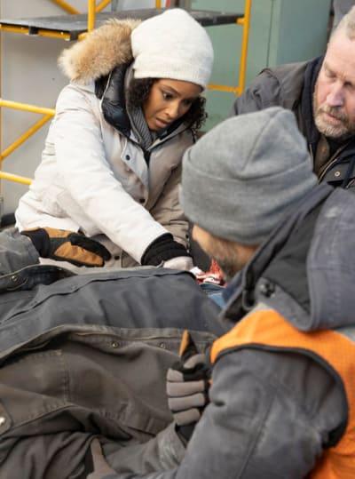 April Assists - Chicago Med Season 6 Episode 10