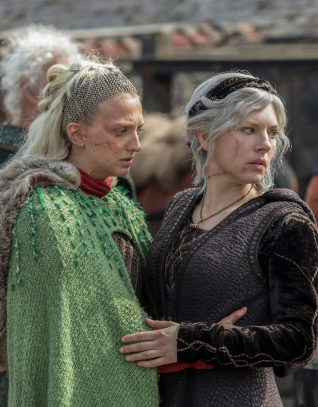 Worried Looks - Vikings Season 5 Episode 19