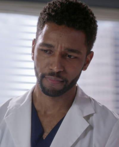 Winston Steps Up  - Grey's Anatomy Season 18 Episode 2