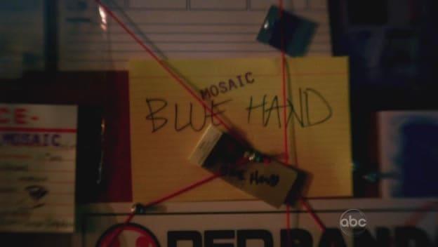 A Blue Hand?