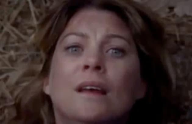 Terrified Meredith