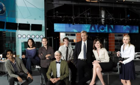 The Newsroom Cast Pic