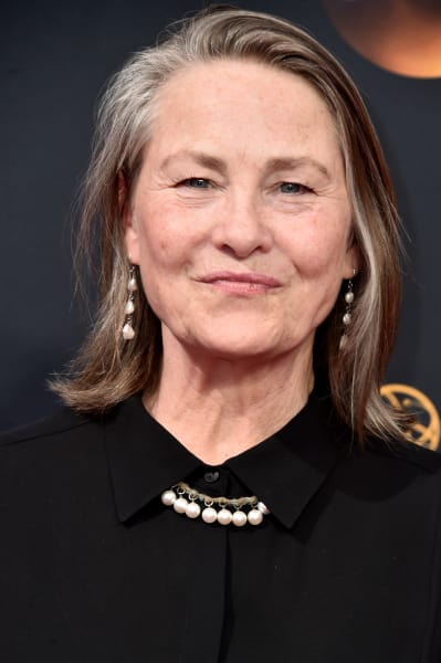 Cherry Jones Attends Emmys