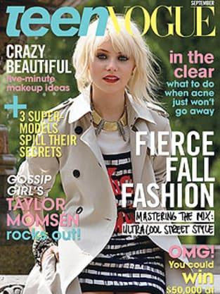 Taylor Momsen Teen Vogue Cover