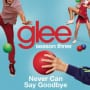 Glee cast never can say goodbye