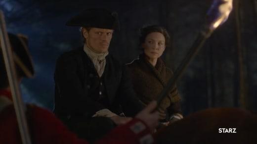 Outlander S4 Jamie & Claire