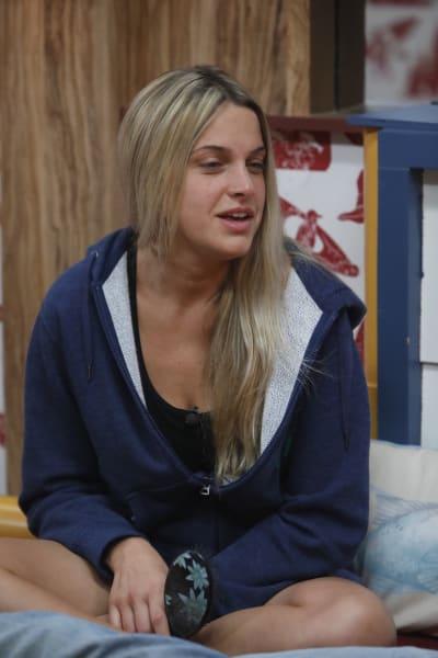 Christy Makes a Blindside  - Big Brother