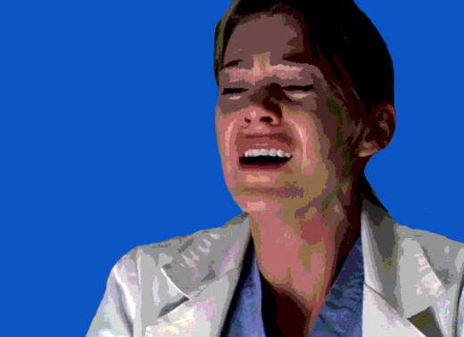 Meredith Cries