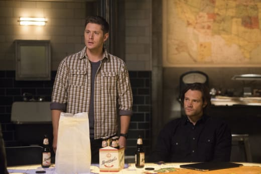 Sam and Dean are concerned - Supernatural Season 12 Episode 14